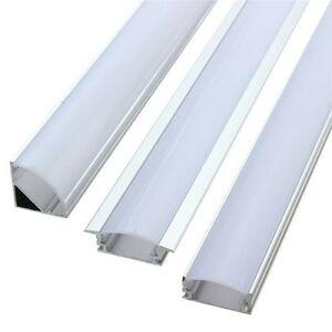 Shallow Aluminum channels