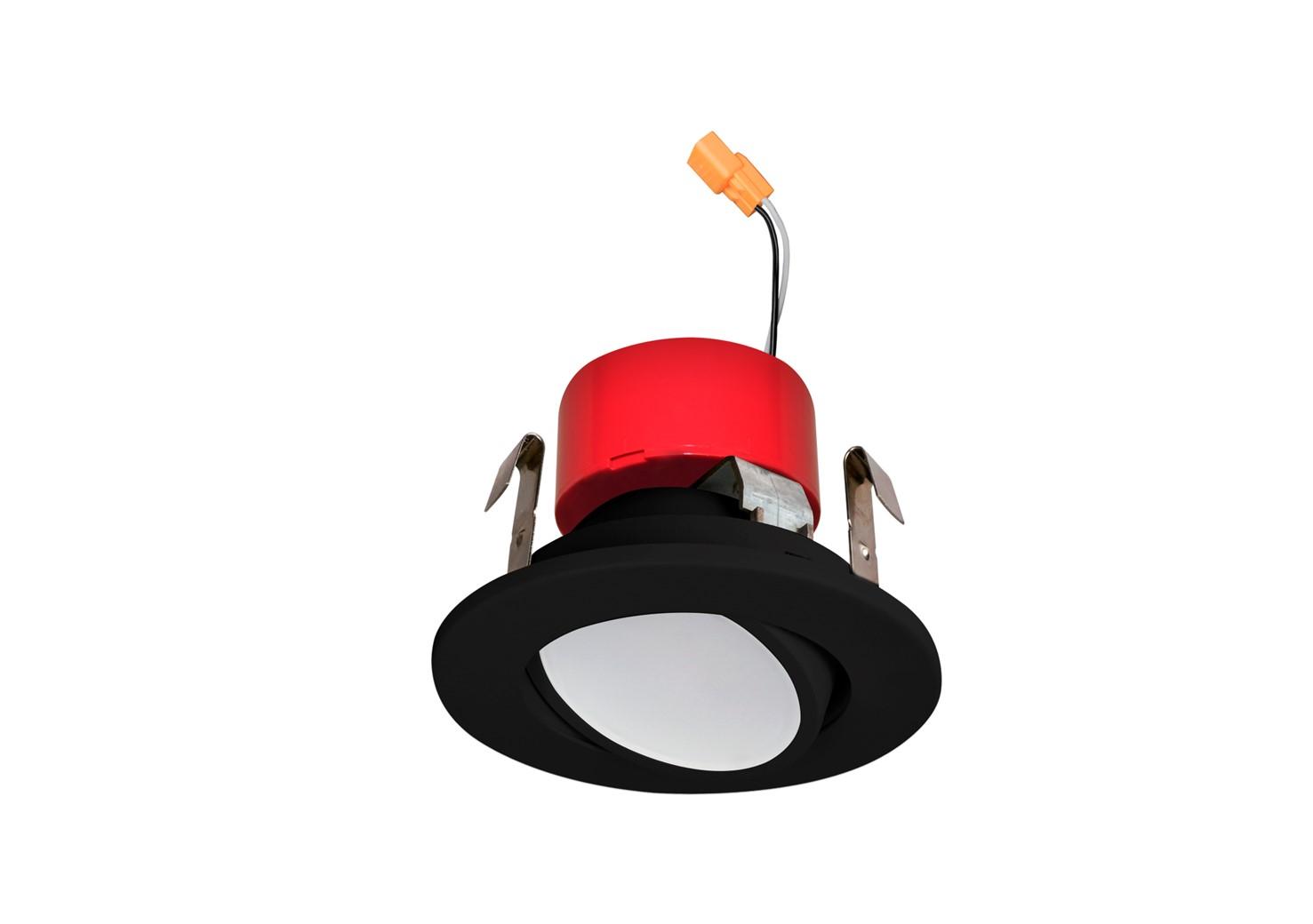 3″ Gimbal LED Retrofit Black Trim
