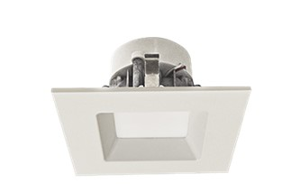 4″ Square Recessed Light Trim